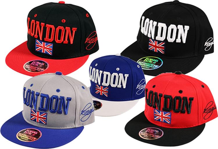 214288083 Details about 2 Tone London GB Union Jack Flag Snapback Flat Peak Snap Back  Baseball Cap Hat
