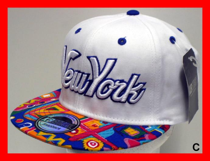KB Ethos NY New York Snapback AZTEC FLAT PEAK Snap Back Cap